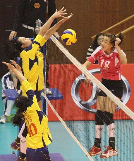 全运成年组女排预赛A组结束 苏津沪京进八强