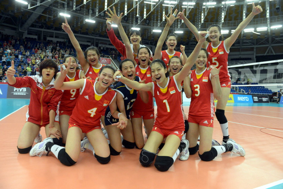 女排世青赛国青时隔18年再夺冠军 决赛3-0日本