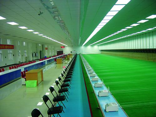 10米、25米、50米、移动靶馆、决赛馆