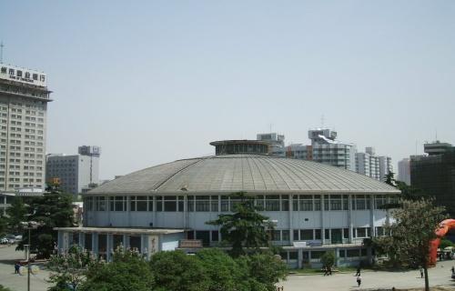 河南省体育场体育馆内外景